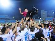 Hanoi T&T se proclamó campeón de liga de fútbol de Vietnam