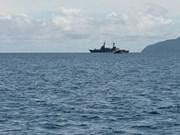 Detiene Indonesia barco malasio cargado de materiales sospechosos