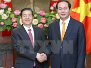 Presidente de Vietnam recibe a ministro de Seguridad Pública de China
