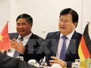 Pretende Vietnam impulsar asociación estratégica con Alemania