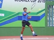 Gana Ly Hoang Nam doble título en campeonato internacional de tenis