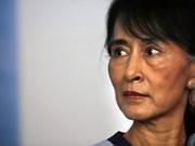 Myanmar: Aung San Suu Kyi suspende trabajo por razón de salud