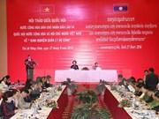 Vietnam y Laos comparten experiencias en la gestión de deuda pública