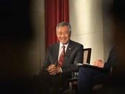 Firman Singapur y Japón acuerdos de cooperación económica