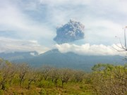 Indonesia evacúa más de mil turistas por erupción volcánica