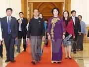 Presidenta del Parlamento vietnamita participa en reunión de AIPA en Myanmar