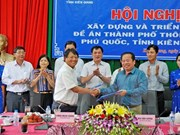 Arranca proyecto de construcción de ciudad inteligente en provincia de Vietnam