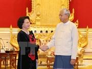 Presidenta de Parlamento de Vietnam continúa actividades en Myanmar