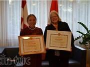 Honran a activistas con contribuciones al fomento de lazos Suiza – Vietnam