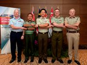 Jefes de defensa de FPDA abordan temas de cooperación en Singapur