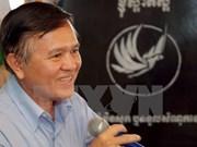 Registra presidente en funciones de CNRP de Camboya en lista de electores