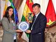 Delegación del Partido Comunista de Vietnam visita Bolivia