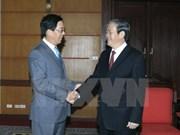 Dirigente partidista de Vietnam recibe al embajador chino