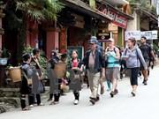Crece llegada de turistas a Vietnam