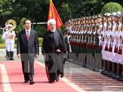 Vietnam e Irán acuerdan medidas para estrechar relaciones bilaterales