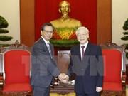 Líder partidista vietnamita destaca aportes del embajador nipón a nexos bilaterale
