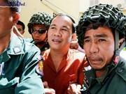 Tribunal de Camboya sentencia a prisión a opositor Um Sam An