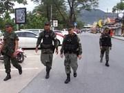 Tailandia refuerza seguridad para evitar posibles ataques con bombas