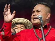 Tailandia: Encarcelado líder de camisas rojas por difamación y desórdenes