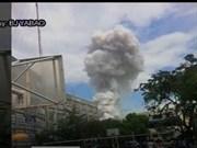 Incendio en Filipinas deja dos muertos y 24 heridos