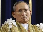Dirigentes vietnamitas envían condolencias por fallecimiento de rey tailandés