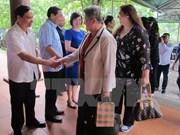 Embajadoras y diplomáticas extranjeras exploran provincia de Ninh Binh