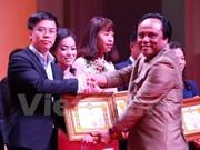Conmemoran en Laos el Día de Empresarios de Vietnam