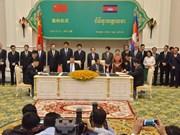 Camboya y China firman acuerdos de cooperación