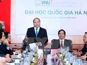 Reclama papel de Universidad Nacional de Hanoi en construcción de nación de startup