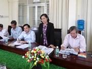Organizaciones de masas de Vietnam y Laos fortalecen cooperación