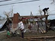 Tifón Haima deja al menos cuatro muertos en norte de Filipinas