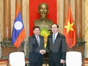 Presidente de Vietnam pide más condiciones favorables para proyectos con Laos
