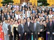 Presidente de Vietnam elogia rol de PYMES en economía nacional