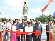 Reinauguran monumento de combatientes revolucionarios vietnamitas en Phnom Penh