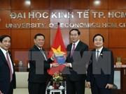 Urgen a Universidad de Economía de Ciudad Ho Chi Minh a ser centro de investigación