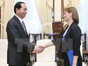 Presidente vietnamita urge acelerar negociones para firmar acuerdo con Israel