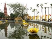 Pagoda Tran Quoc en Hanoi entre las más bellas del mundo