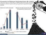 [Infografía] Aumenta en Vietnam importaciones de carbón