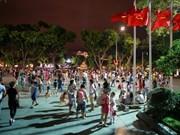 Espacio peatonal en Hanoi atrae miles de turistas cada día