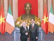 Vietnam e Irlanda acuerdan ampliar nexos de cooperación