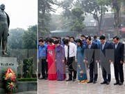 Conmemoran en Hanoi aniversario 99 de Revolución de Octubre de Rusia