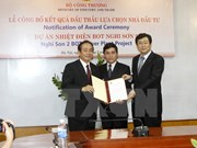 Firman acuerdo para construcción en Vietnam de nueva termoeléctrica