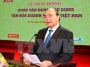 Premier de Vietnam estimula popularizar cultura empresarial