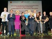 Programa artístico marca vigésimo aniversario de la amistad Vietnam -Irlanda