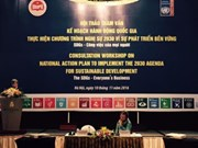 Vietnam se prepara para cumplir Agenda 2030 de la ONU