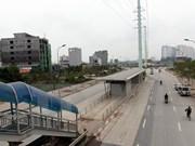 Hanoi pondrá a prueba línea de autobús rápido en diciembre