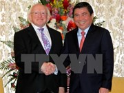 Presidente de Irlanda visita Ciudad Ho Chi Minh