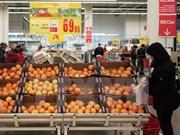 Exportaciones de verduras y frutas de Vietnam aumentan fuerte