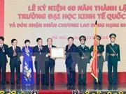 Universidad Nacional de Economía debe estimular espíritu de startup en Vietnam