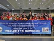 Vietnam sobresale en Olimpiada Internacional de Matemática y Ciencias